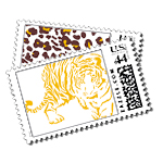 Tafari - Postage Stamps - Safari - Fine Stationery - Shop Ceci - Ceci New York