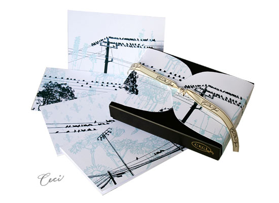 Just Landed - Urban - Fine Stationery - Shop Ceci - Ceci New York