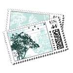 Just Landed - Postage Stamps - Urban - Fine Stationery - Shop Ceci - Ceci New York