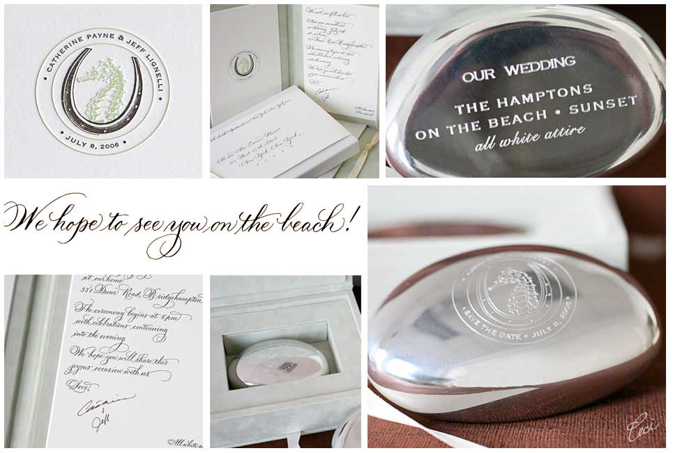 Catherine & Jeff - Luxury Wedding Invitations - Details - Classic - Ceci Couture - Ceci Wedding - Ceci New York