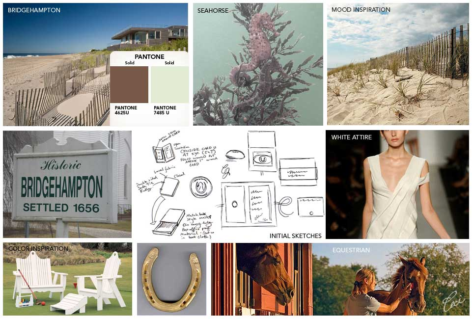 Catherine &amp; Jeff - Inspiration Board for Luxury Wedding Invitations - Classic - Ceci Couture - Ceci Wedding - Ceci New York
