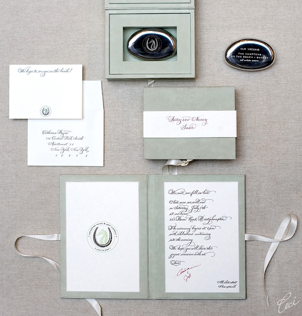 Catherine &amp; Jeff - Luxury Wedding Invitations - Classic - Ceci Couture - Ceci Wedding - Ceci New York