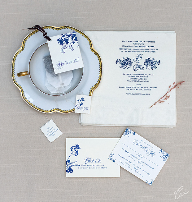 Ali &amp; Elliott - Luxury Wedding Invitations - Daring - Ceci Couture - Ceci Wedding - Ceci New York