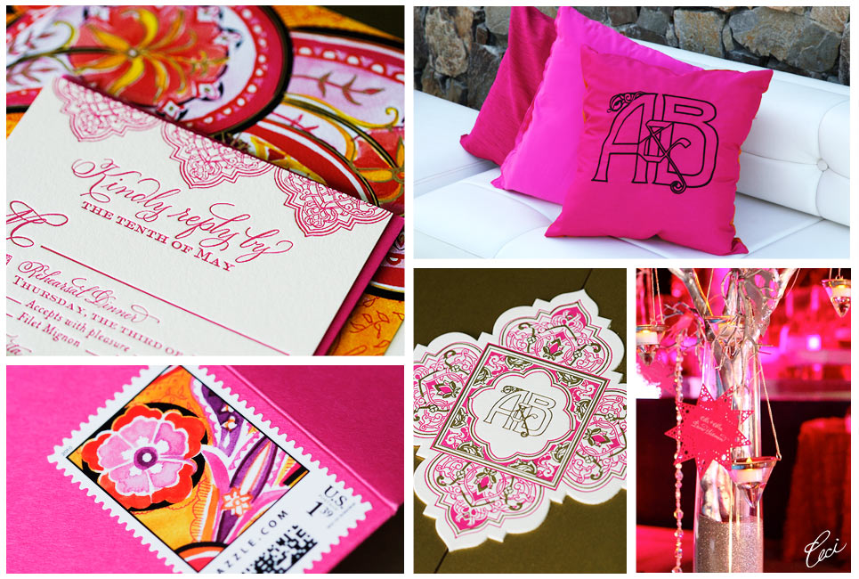 Ashley & Brian - Luxury Wedding Invitations - Details - Daring - Ceci Couture - Ceci Wedding - Ceci New York