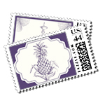 Breakers Row - Postage Stamps - The Breakers, Palm Beach - Ceci New York