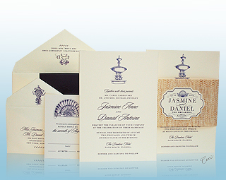 Breakers Row - Luxury Wedding Invitations, Save the Dates, Accessories - The Breakers, Palm Beach - Ceci New York