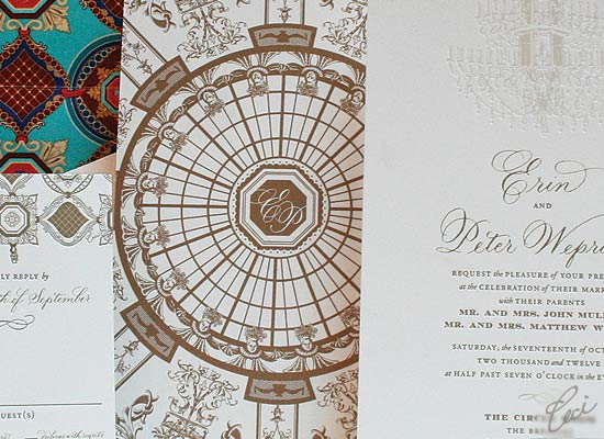 The Circle Room - Luxury Wedding Invitations - Details - The Breakers, Palm Beach - Ceci Partnerships - Ceci New York