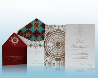 The Circle Room - Luxury Wedding Invitations, Save the Dates, Accessories - The Breakers, Palm Beach - Ceci New York