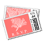 Coral Cove - Postage Stamps - The Breakers, Palm Beach - Ceci New York