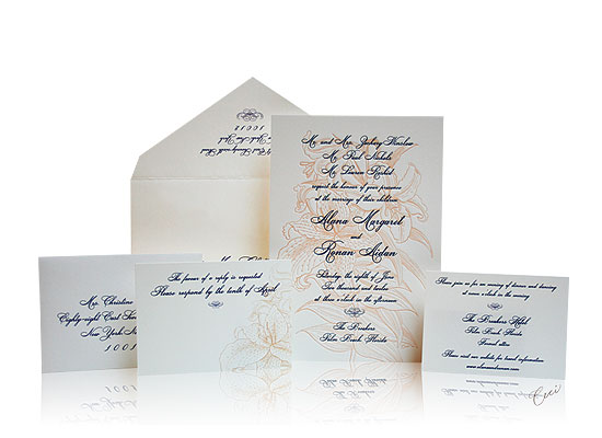 Grand Flora - Luxury Wedding Invitations - The Breakers, Palm Beach - Ceci Partnerships - Ceci New York
