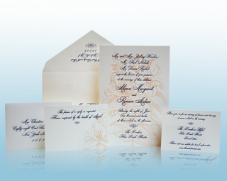 Grand Flora - Luxury Wedding Invitations, Save the Dates, Accessories - The Breakers, Palm Beach - Ceci New York