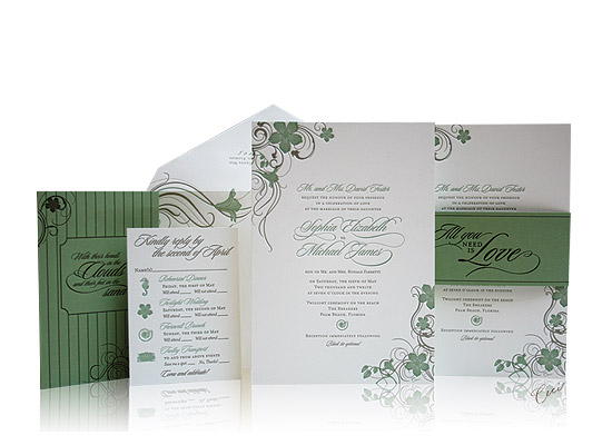 Poinciana - Luxury Wedding Invitations - The Breakers, Palm Beach - Ceci Partnerships - Ceci New York