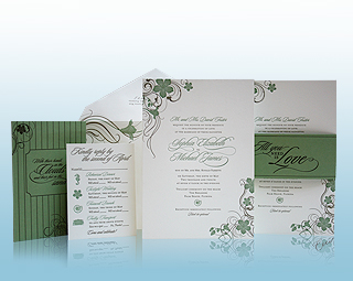 Poinciana - Luxury Wedding Invitations, Save the Dates, Accessories - The Breakers, Palm Beach - Ceci New York
