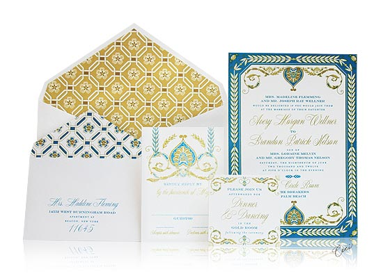 Royal Palazzo - Luxury Wedding Invitations - The Breakers, Palm Beach - Ceci Partnerships - Ceci New York