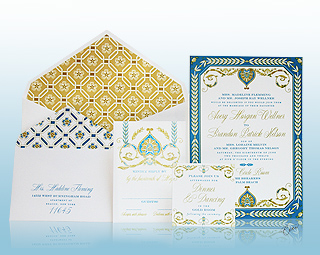 Royal Palazzo - Luxury Wedding Invitations, Save the Dates, Accessories - The Breakers, Palm Beach - Ceci New York