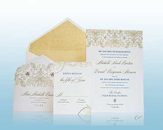 Stella Maris - Luxury Wedding Invitations, Save the Dates, Accessories - The Breakers, Palm Beach - Ceci New York