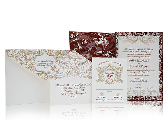Venetian - Luxury Wedding Invitations - The Breakers, Palm Beach - Ceci Partnerships - Ceci New York