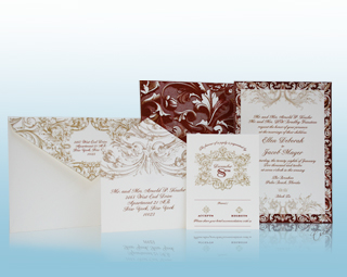 Venetian - Luxury Wedding Invitations, Save the Dates, Accessories - The Breakers, Palm Beach - Ceci New York