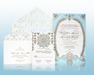 Whitehall - Luxury Wedding Invitations, Save the Dates, Accessories - The Breakers, Palm Beach - Ceci New York