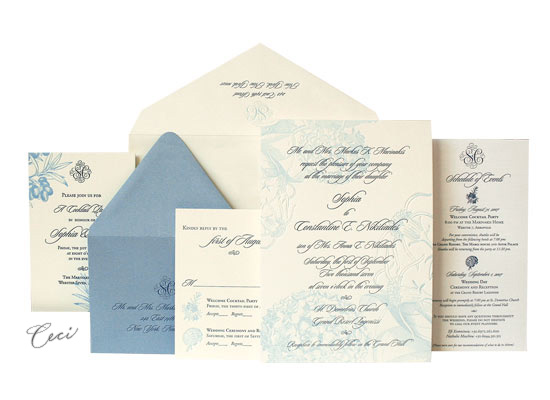 Athena - Luxury Wedding Invitations - Ceci Ready-to-Order Collection - Ceci Wedding - Ceci New York