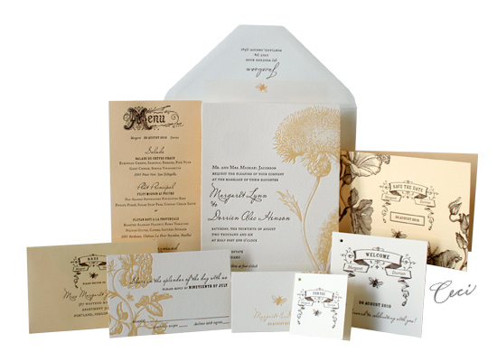 Bijoux - Luxury Wedding Invitations - Ceci Ready-to-Order Collection - Ceci Wedding - Ceci New York