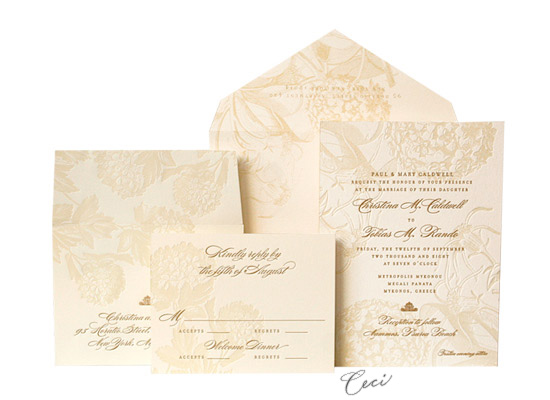 Guinevere - Luxury Wedding Invitations - Ceci Ready-to-Order Collection - Ceci Wedding - Ceci New York