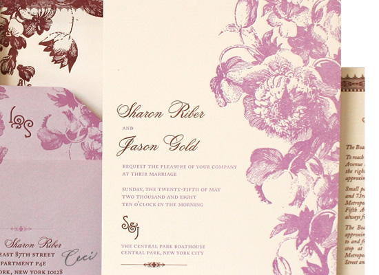 In Bloom - Details - Luxury Wedding Invitations - Ceci Ready-to-Order Collection - Ceci Wedding - Ceci New York