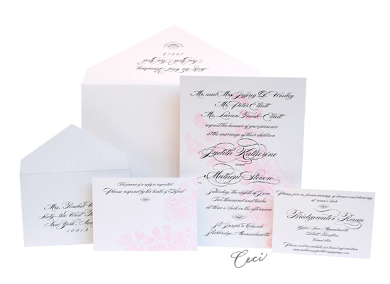 Majestic - Luxury Wedding Invitations - Ceci Ready-to-Order Collection - Ceci Wedding - Ceci New York