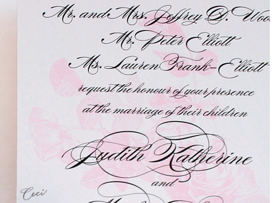 Majestic - Details - Luxury Wedding Invitations - Ceci Ready-to-Order Collection - Ceci Wedding - Ceci New York