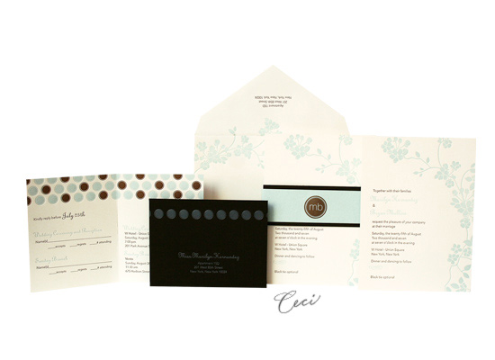 Mimosa - Luxury Wedding Invitations - Ceci Ready-to-Order Collection - Ceci Wedding - Ceci New York