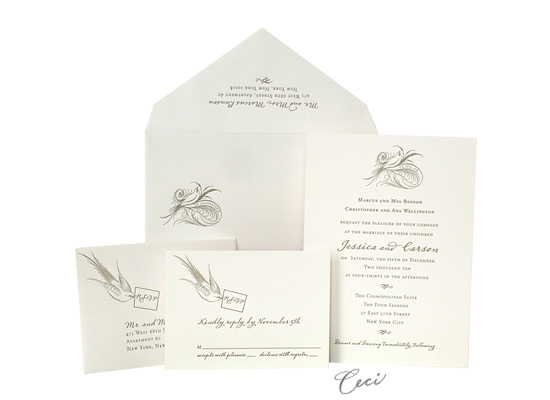 Aerial - Luxury Wedding Invitations - Ceci Ready-to-Order Collection - Ceci Wedding - Ceci New York