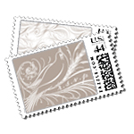 Aerial Luxury Wedding Postage Stamps - Ceci Wedding - Ceci New York