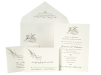 Aerial Luxury Wedding Invitations - Ceci Ready-to-Order Collection - Ceci Wedding - Ceci New York