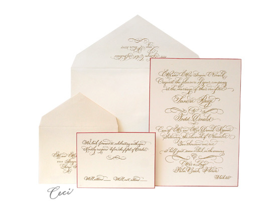 Antoinette - Luxury Wedding Invitations - Ceci Ready-to-Order Collection - Ceci Wedding - Ceci New York