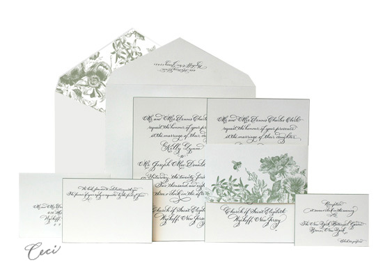 Audrey - Luxury Wedding Invitations - Ceci Ready-to-Order Collection - Ceci Wedding - Ceci New York
