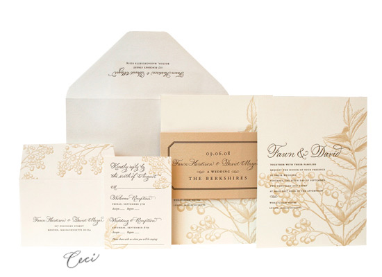 Cassandra - Luxury Wedding Invitations - Ceci Ready-to-Order Collection - Ceci Wedding - Ceci New York