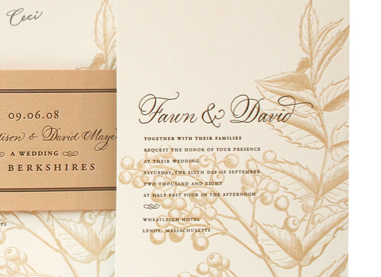 Cassandra - Details - Luxury Wedding Invitations - Ceci Ready-to-Order Collection - Ceci Wedding - Ceci New York
