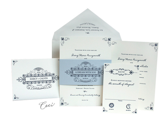 Dream - Luxury Wedding Invitations - Ceci Ready-to-Order Collection - Ceci Wedding - Ceci New York