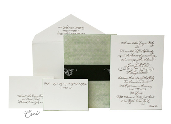 Katherine - Luxury Wedding Invitations - Ceci Ready-to-Order Collection - Ceci Wedding - Ceci New York