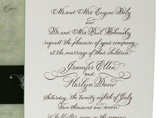 Katherine - Details - Luxury Wedding Invitations - Ceci Ready-to-Order Collection - Ceci Wedding - Ceci New York