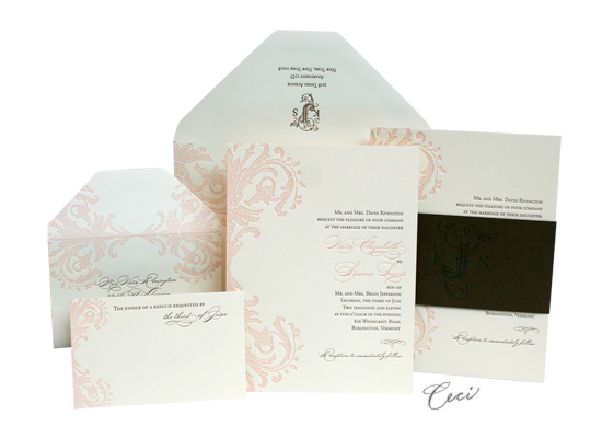 Pretty Miss - Luxury Wedding Invitations - Ceci Ready-to-Order Collection - Ceci Wedding - Ceci New York