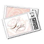 Pretty Miss Luxury Wedding Postage Stamps - Ceci Wedding - Ceci New York