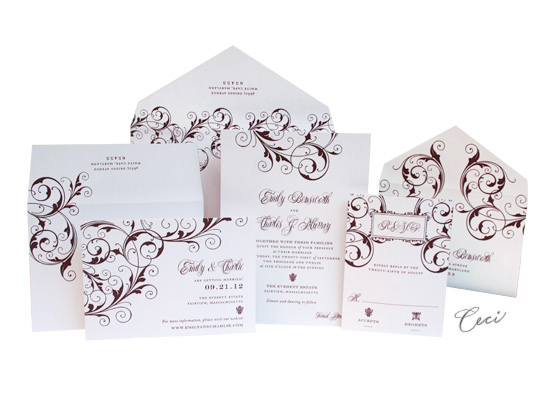 Symphony - Luxury Wedding Invitations - Ceci Ready-to-Order Collection - Ceci Wedding - Ceci New York