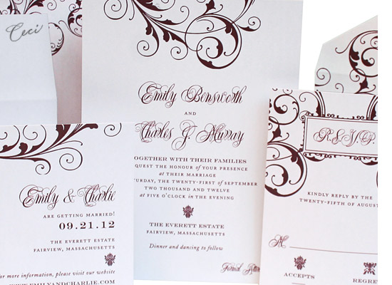Symphony - Details - Luxury Wedding Invitations - Ceci Ready-to-Order Collection - Ceci Wedding - Ceci New York