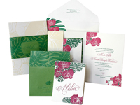 Aloha Luxury Wedding Invitations - Ceci Ready-to-Order Collection - Ceci Wedding - Ceci New York
