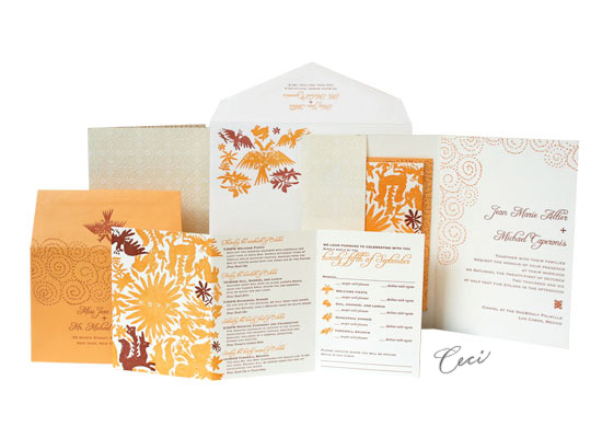 Del Sol - Luxury Wedding Invitations - Ceci Ready-to-Order Collection - Ceci Wedding - Ceci New York