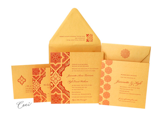 Embark - Luxury Wedding Invitations - Ceci Ready-to-Order Collection - Ceci Wedding - Ceci New York