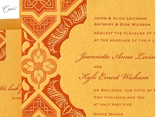 Embark - Details - Luxury Wedding Invitations - Ceci Ready-to-Order Collection - Ceci Wedding - Ceci New York