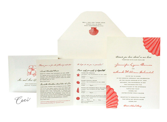 Hidden Paradise - Luxury Wedding Invitations - Ceci Ready-to-Order Collection - Ceci Wedding - Ceci New York