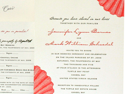 Hidden Paradise - Details - Luxury Wedding Invitations - Ceci Ready-to-Order Collection - Ceci Wedding - Ceci New York